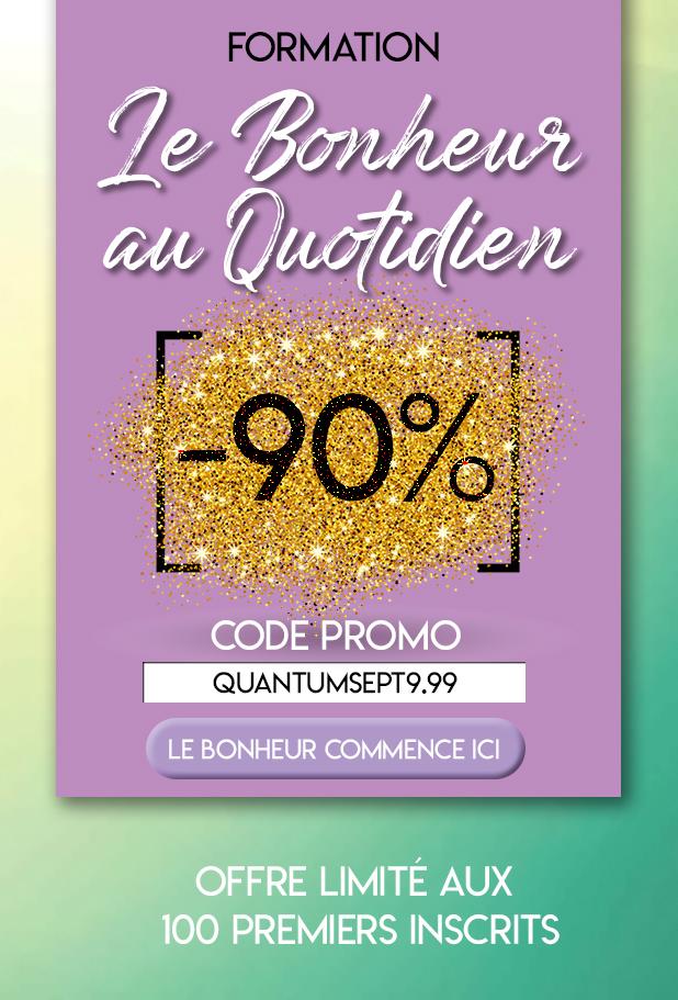 """Formation """"Le Bonheur au Quotidien"""" www.quantum-coaching.net"""