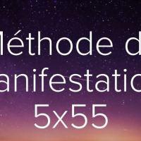 Formule de manifestation 5x55