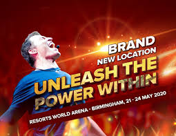 Tony Robbins - Unleash the Power Within - Birmingham - lifecoach